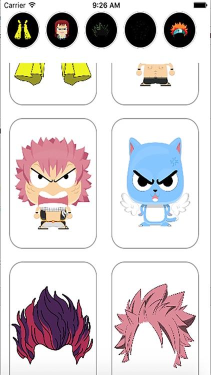 Fairy Anime Stickers (Manga Camera) screenshot-4