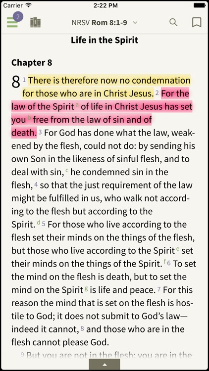 NRSV Bible by Olive Tree screenshot-0
