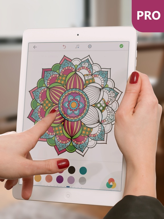 Mandala Coloring Pages For Adults Pro App Price Drops
