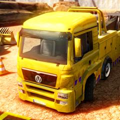 Construction Crane Parking - Driving Simulator