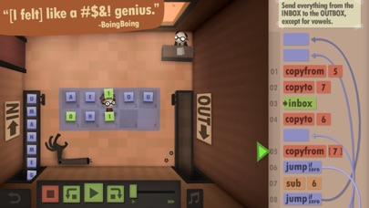 Screenshot #9 for Human Resource Machine