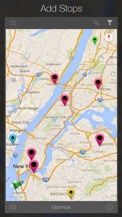 Road Warrior Route Planner app image