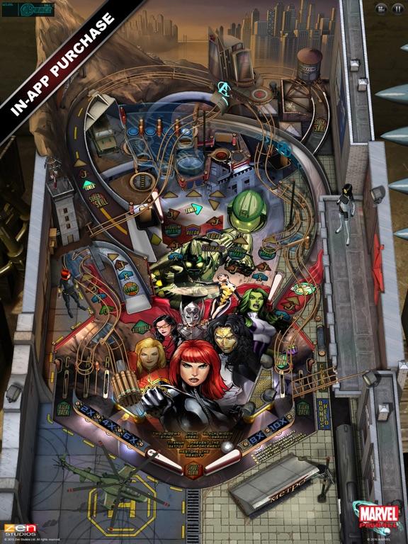 Screenshot #1 for Marvel Pinball