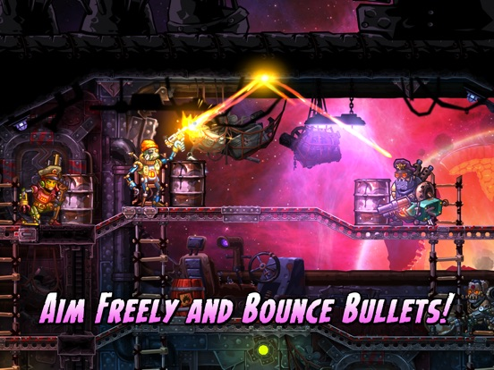 Screenshot #1 for SteamWorld Heist