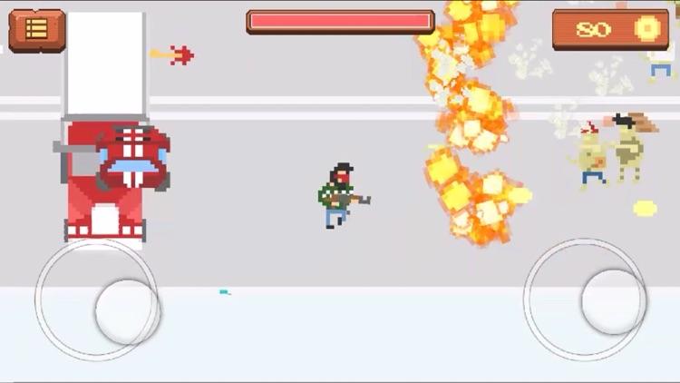 Pixel Zombie Shooting Game