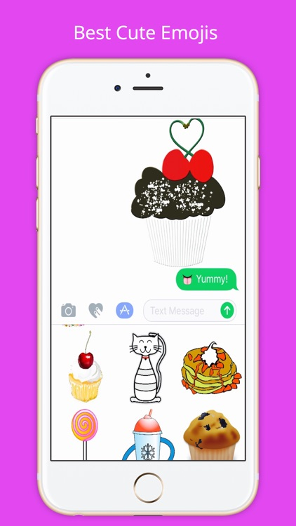 Cute Emoji By CharmPosh screenshot-1