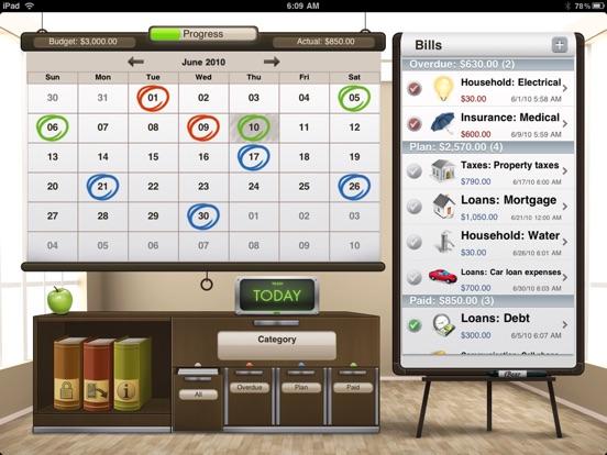 Bills for iPad Screenshots