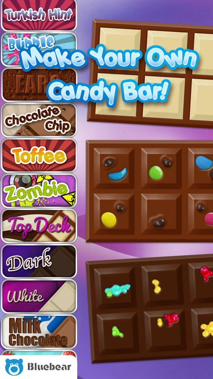Candy Bars! - by Bluebear