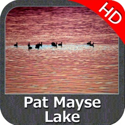 Lake Pat Mayse Texas HD GPS fishing chart offline