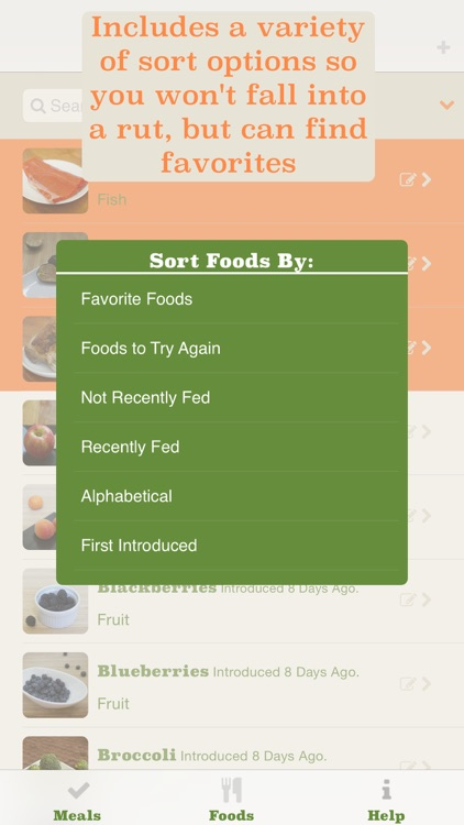 Baby Bites – The Best Food Tracker For Little Ones screenshot-3