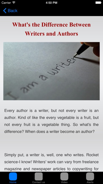 How To Write A Book & How To Publish A Book