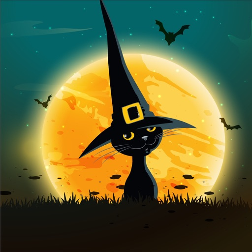 Scary Halloween. Boo!