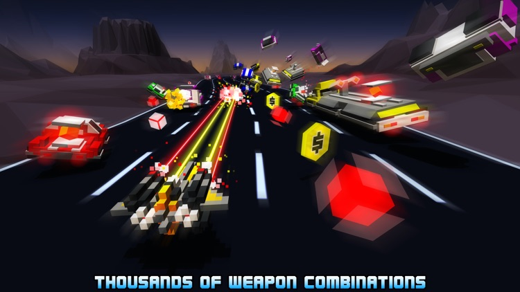 Hovercraft: Takedown - Custom Combat Cars screenshot-2