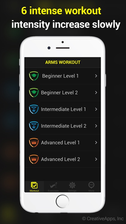 30 Day Toned Arms ~ Perfect Workout For Arms screenshot-3