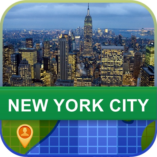 Offline New York City, USA Map - World Offline Maps