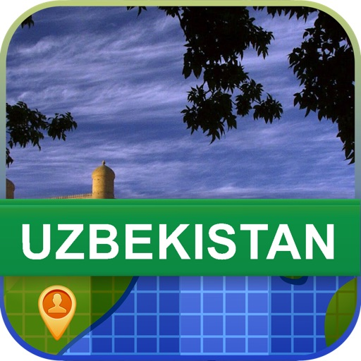 Offline Uzbekistan Map - World Offline Maps