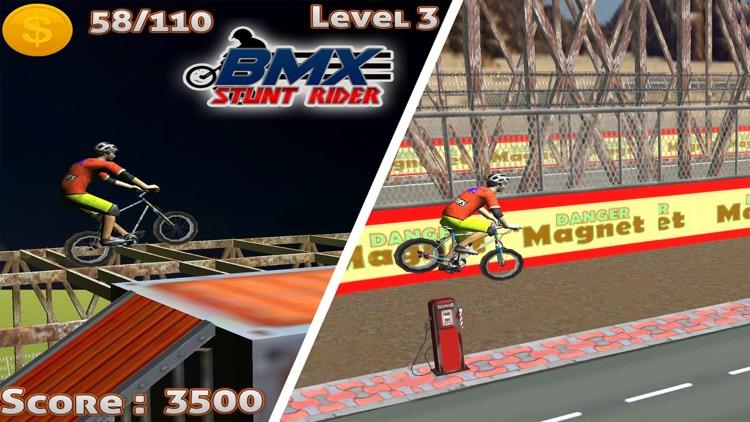 BMX Stunt Rider - Free Pumped Racing Games