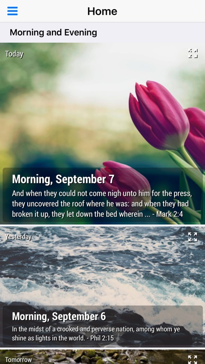 Morning and Evening With God - Daily Devotional (Lite)