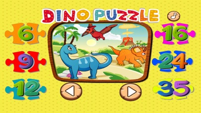 Dino Puzzle Game For Kid Free Jigsaw For Preschool screenshot three