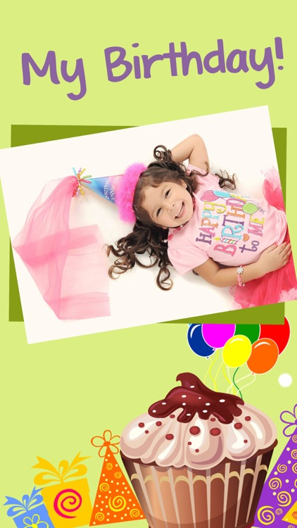 Happy Birthday Cards & Frames –  photo editor screenshot-4