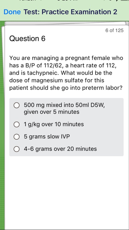 Critical Care Paramedic Review screenshot-3