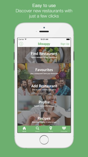 Biteappy food allergy restaurant finder on the app store forumfinder Images