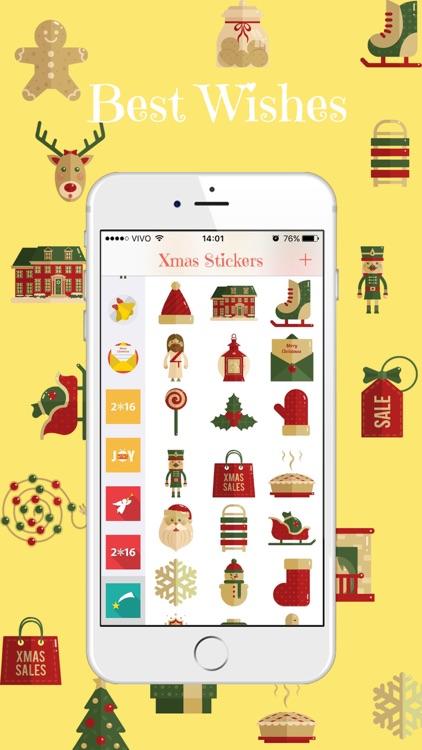Xmas Stickers - Christmas Moji for iMessage screenshot-3