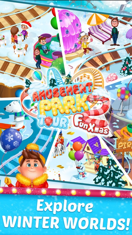 Amusement Park Tour 2: Fun Xmas screenshot-4