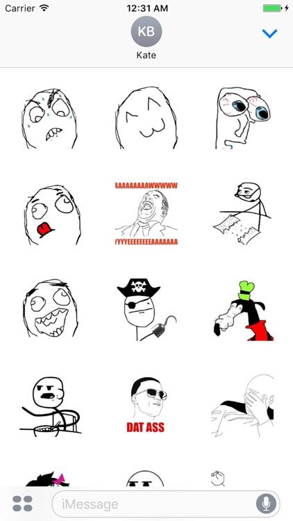 So Funny Meme Stickers screenshot-4