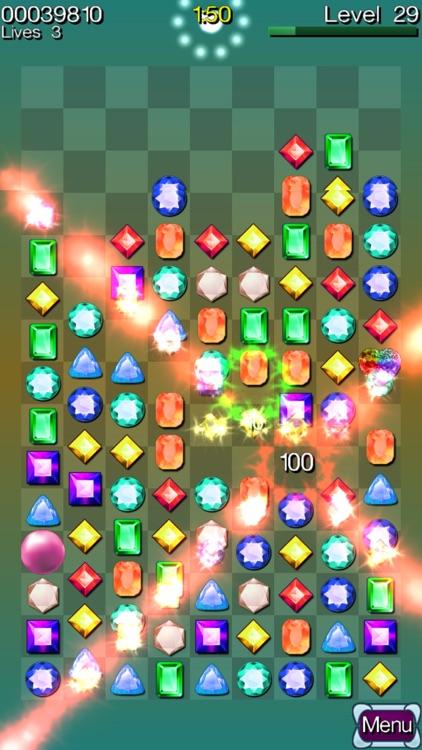 Diamond Stacks Mania : match 3 jewel gems puzzle! screenshot-3