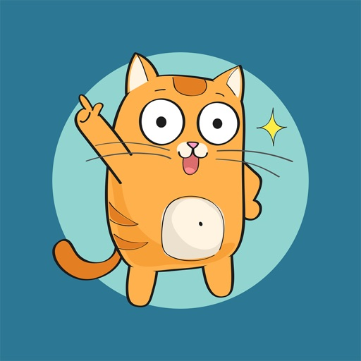 Cartoon Cats - Stickers for iMessage