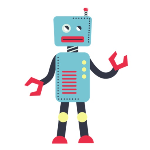 Robot Stickers For iMessage