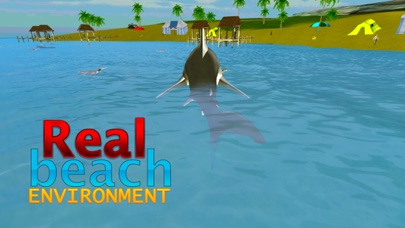 Crazy Shark Attack 3D - A hungry shark simulator-3