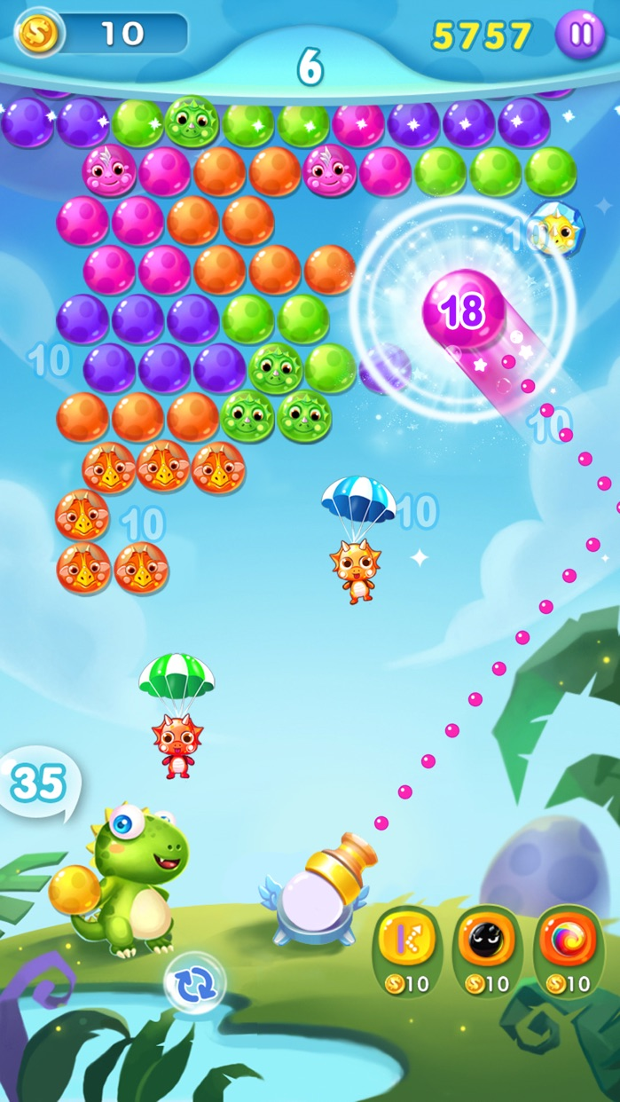 Bubble Shooter Adventure - Fun Bubble Games Screenshot