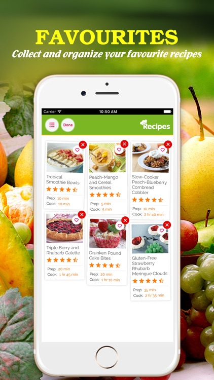 Yummy Fruit Recipes Pro ~ Best of delicious fruit recipes screenshot-3