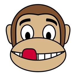 Monkey Emoticon le scimmiette più simatiche