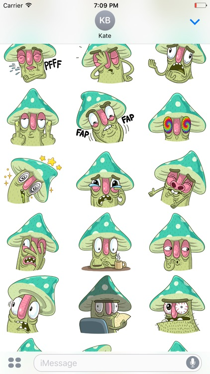Mushroom! Stickers