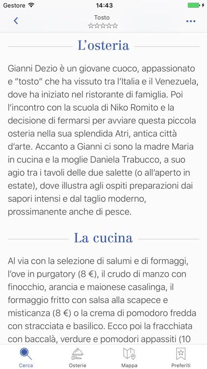 Osterie d'Italia 2017 - la Guida di Slow Food screenshot-3