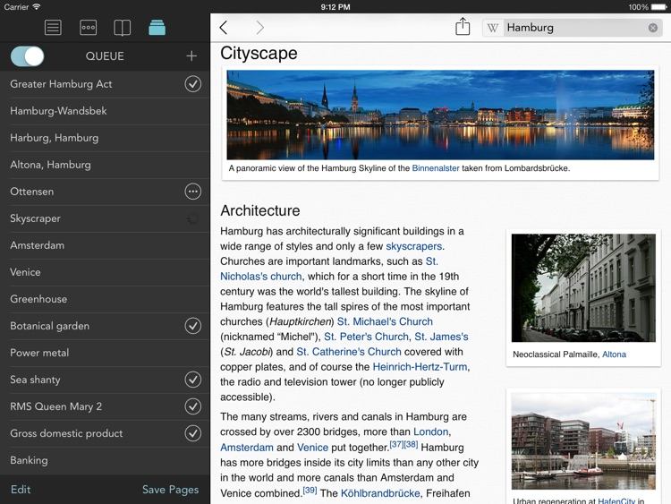 Wikipanion Plus for iPad