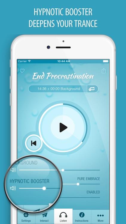 End Procrastination Hypnosis