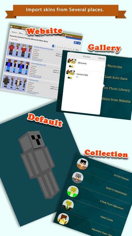 D Boy Skin Editor For Minecraft PEPC By Yogesh Tanwar - Skin para minecraft pe pc