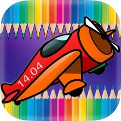 Uçaklar Jetler Boyama Kitabı Uçak Oyunu App Storeda