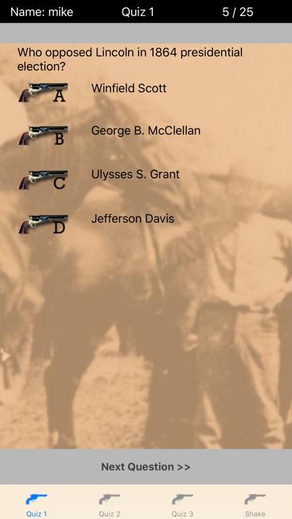 Civil War Extreme Trivia screenshot-3
