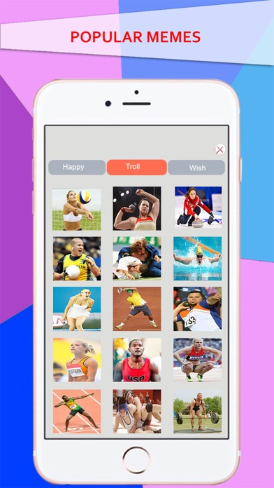 Simple Meme Creator - Make your own & Funny Meme with Athlete