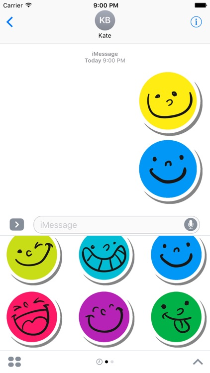 Funny Smile Stickers for iMessage