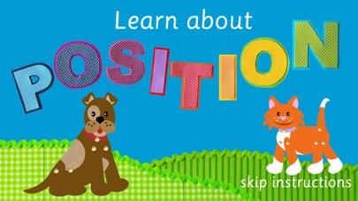 Fido&Pumpkin Position Words