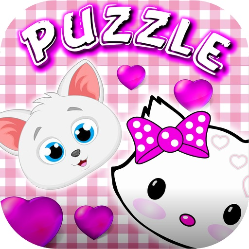 Kitty Puzzles Slide