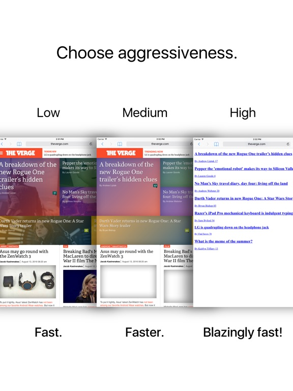 Speedafari – Speed Up Safari on Slow Connections Screenshot