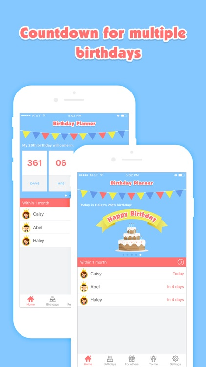 Birthday Planner Pro - Event Countdown & Gift List
