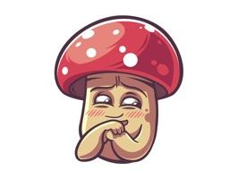 A mushroom with an attitude